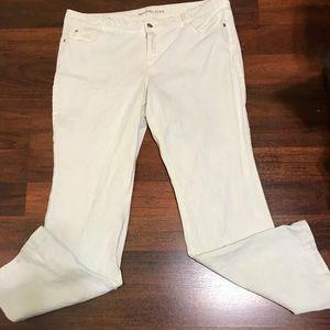 Michael Kors winter white jeans